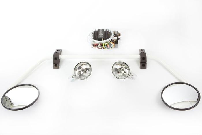 Cargo Mirror Pulse Light Kit - Alpine Aerotech